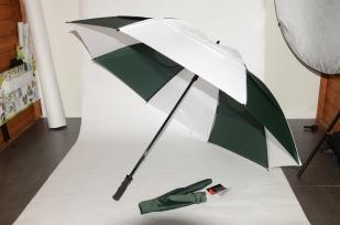"""Gustbuster Golf umbrella Hunter-White 62"""""""