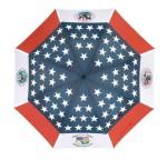 Gustbuster printed umbrella_Pebblebeach